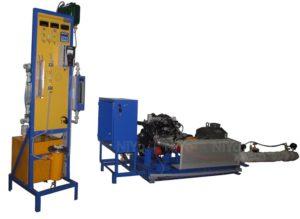Three Cylinder Four Stroke Petrol Engine Test Rig - HMT11