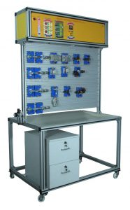 Pneumatic Trainer, Basic, Advanced and PLC Operated Model - PNE10